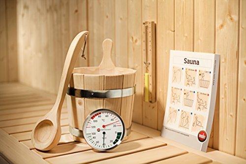 Weka Sauna Zubehör Set, 5 teilig Premium